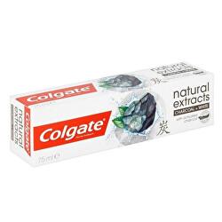 Pastă de dinți - care conține o formulă specială care ajută la albirea dințilorcu carbon activatNaturals Charcoal 75 ml
