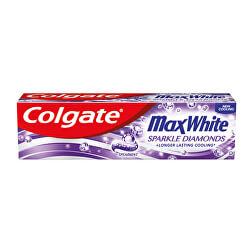 Pasta de dinți pentru albire Max White Sparkle Diamonds 75 ml