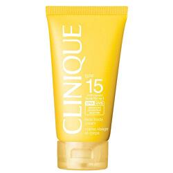 Krém na opaľovanie SPF 15 Sun (Face and Body Cream) 150 ml