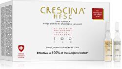 Péče na podporu růstu vlasů a proti vypadávání vlasů pro muže stupeň 500 Re-Growth & Anti-Hair Loss 20 x 3,5 ml