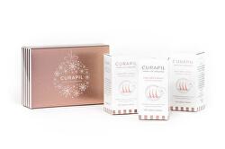 Vánoční balení doplněk stravy pro podporu růstu vlasů 180 tablet - motiv ozdoba (3 x 60 tbl)