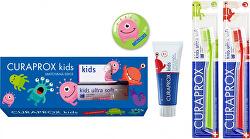 Dárková sada dentální péče pro děti od 6-ti let s obsahem fluoridu Vodní meloun
