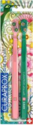 Velmi jemný zubní kartáček 5460 Duo Wild Garden Edition 2 ks