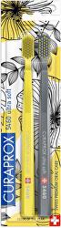 Nagyon puha fogkefe 5460 Duo Yellow/Grey Edition 2 db