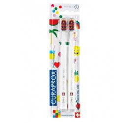 Nagyon gyengég fogkefe 5460 Ultra Soft Duo Pack - Pop Art kiadás