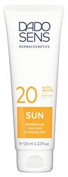 Opalovací fluid proti slunečním alergiím SPF 20 Sun 125 ml