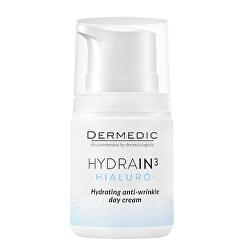 Hydratační denní krém proti vráskám pro dehydratovanou suchou pleť SPF 15 Hydrain3 Hialuro 55 g