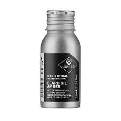 Přírodní olej na vousy Man`s Ritual (Beard Oil Amber) 50 ml