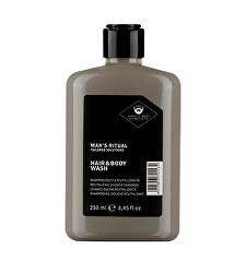 Revitalizační sprchový gel a šampon Man`s Ritual (Hair & Body Wash) 250 ml