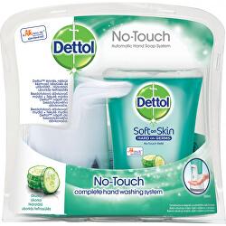 Dispenser di sapone senza contatto + sapone liquido Cetriolo 250 ml