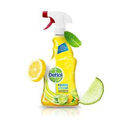 Antibakteriálni sprej na povrchy Citron a Limeta 500ml