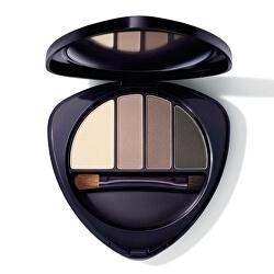 Paletka pro líčení očí a obočí (Eye & Brow Palette) 5,3 g