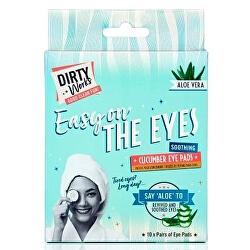 Maska na oči a očné okolie Easy On The Eyes ( Cucumber Eye Pads) 10 x 8 ml