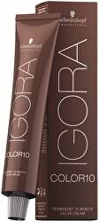 Vopsea permanentă pentru păr, care accționează în 10 minute, IgoraColor 10(Permanent 10 Minute Color Cream) 60 ml