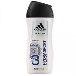Sprchový gel 3 v 1 pro muže Hydra Sport (Shower Gel Body Hair Face)