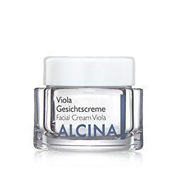 Vyživující a zklidňující krém pro vysušenou pleť Viola (Facial Cream Viola)