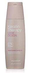 Tisztító sampon Lisse Design Keratin Therapy (Maintenance Shampoo)