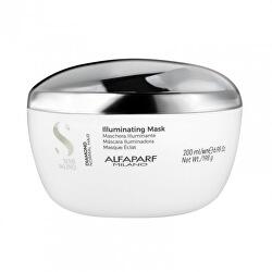 Rozjasňující maska pro normální vlasy Semi di Lino Diamond (Illuminating Mask)