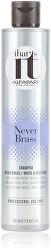 Šampon pro bílé a šedivé vlasy Never Brass (Shampoo)