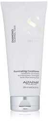 Rozjasňující kondicionér pro normální vlasy Semi di Lino Diamond (Illuminating Conditioner)