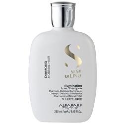 Világosító sampon normál hajra  Semi di Lino Diamond (Illuminating Low Shampoo)