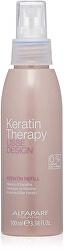 Uhlazující keratinový sprej na vlasy Lisse Design Keratin Therapy (Keratin Refill)