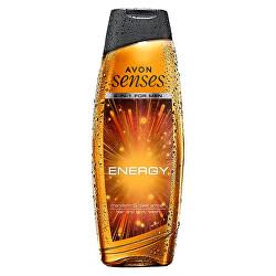 Sprchový gel na tělo a vlasy mandarinka a tmavá ambra (Hair and Body Wash)