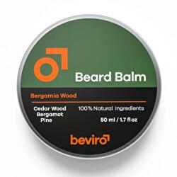 Balzám na vousy s vůní cedru, bergamotu a borovice (Beard Balm)