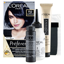 Barva na vlasy Préférence Black Pearls