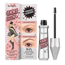 Objemový gel na obočí Gimme Brow+ (Brow Volumizing Fiber Gel) 3 g
