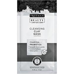 Čisticí jílová maska Aktivní uhlí a probiotika Beauty Infusion (Cleansing Clay Mask)