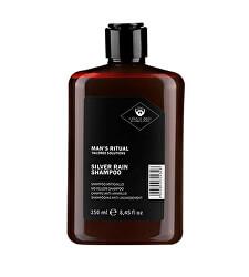 Šampon potlačující žluté odlesky Man`s Ritual (Silver Rain Shampoo)