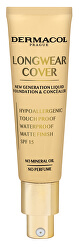Dlouhotrvající krycí make-up Longwear Cover SPF 15 (Liquid Foundation & Concealer) 30 ml