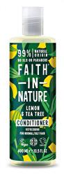 Kondicionér Citrón & tea tree pre normálne a mastné vlasy (Refreshing Conditioner)