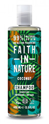Hydratačný prírodné šampón pre normálne a suché vlasy Kokos ( Hydrating Shampoo)