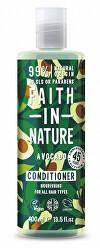 Vyživujúci prírodný kondicionér s avokádovým olejom pre všetky typy vlasov ( Nourish ing Conditioner)