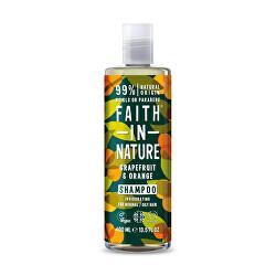 Povzbudzujúci prírodný šampón pre normálne až mastné vlasy Grapefruit & Pomaranč ( Invigo rating Shampoo)