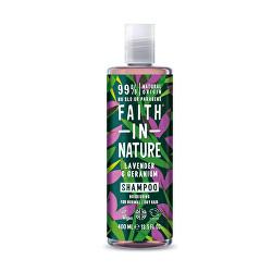 Vyživujúce prírodné šampón pre normálne a suché vlasy Levandule ( Nourish ing Shampoo)