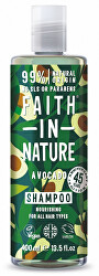 Vyživujúce prírodný šampón s avokádovým olejom pre všetky typy vlasov ( Nourish ing Shampoo)