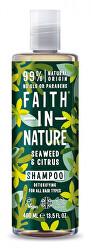 Prírodné šampón s morskou riasou pre všetky typy vlasov ( Detox ifying Shampoo)