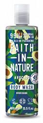 Vyživujúce prírodný sprchový gél s avokádovým olejom ( Body Wash)