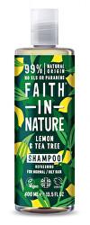 Prírodné šampón pre mastné a normálne vlasy Citrón & Tea Tree (Refreshing Shampoo)