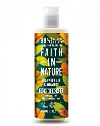 Povzbudzujúci prírodný kondicionér pre normálne a mastné vlasy Graperfuit & pomaranč ( Invigo rating Conditioner)