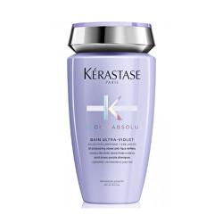 Fialový šampon pro studené odstíny blond vlasů Blond Absolu Bain Ultra Violet(Anti-Brass Purple Shampoo)