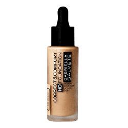 Folyékony smink  Correct & Comfort HD Foundation 29 ml