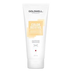 Tónovací kondicionér Light Warm Blonde Dualsenses Color Revive (Color Giving Condicioner)