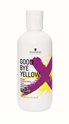 Goodbye Yellow semlegesítő sampon a festett és melírozott haj sárga tónusaira