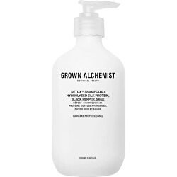 Detoxikační šampon Hydrolyzed Hydrolyzed Silk Protein, Black Pepper, Sage (Detox Shampoo)
