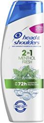 Șampon anti-mătreață Mentol 2 in 1 Fresh (Anti-Dandruff Shampoo)