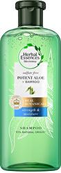 Hydratační šampon Potent Aloe + Bamboo (Strength & Moisture Shampoo)